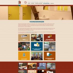 Voorzieningen - Hostel-Uppelink