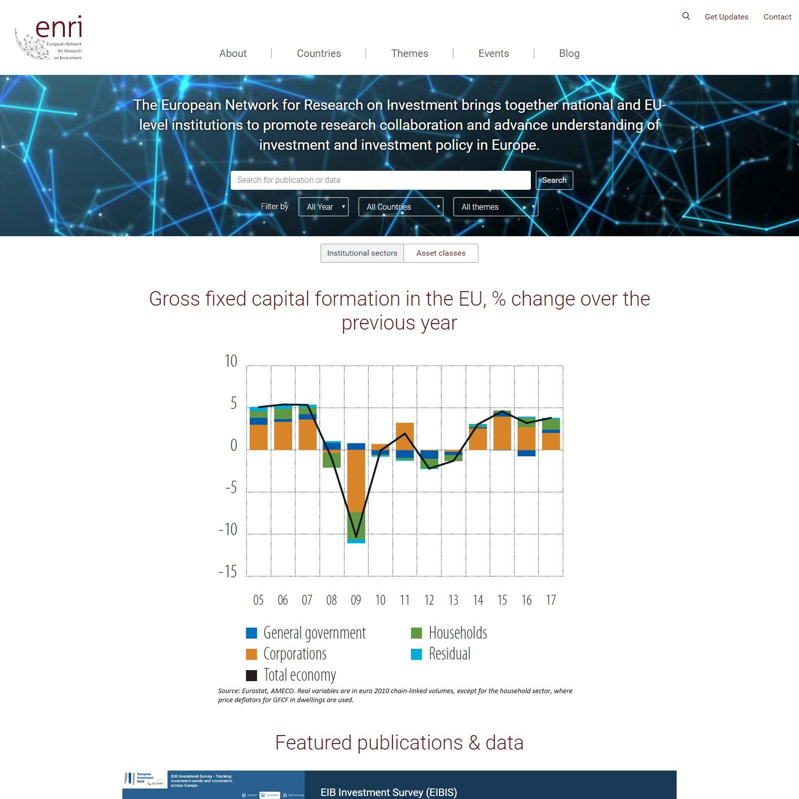 Homepage ENRI